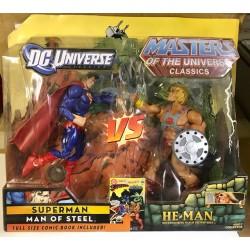 Superman vs He-Man