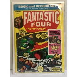 FANTASTIC FOUR BOOK AND...